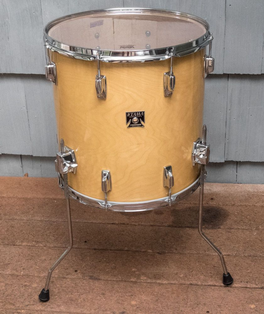 Vintage Tama Superstar 16 X 16 Super Maple Floor Tom Drum Tama Tom Drum Maple Floors Drums