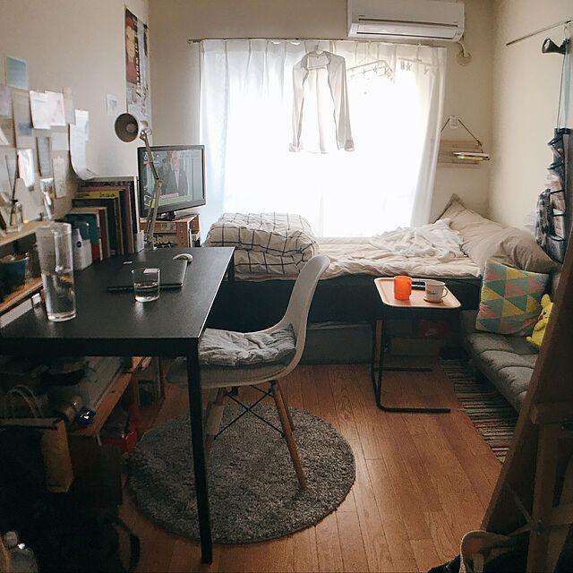 お部屋作りのお手本にしたい 6 8畳のレイアウト実例 작은 방 디자인 침실 꾸미기 아이디어 가구 배치