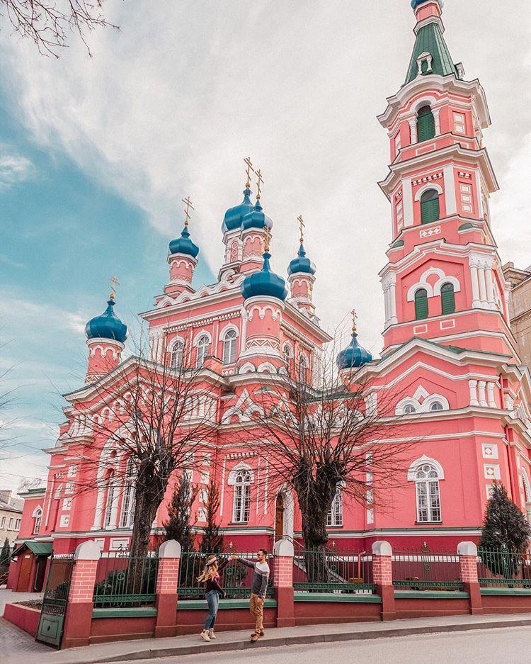 Instagram Spots In Riga Latvia Pink Church Adaras Escape The Ordinary Adaras Instagram Places Croatia Travel Croatia