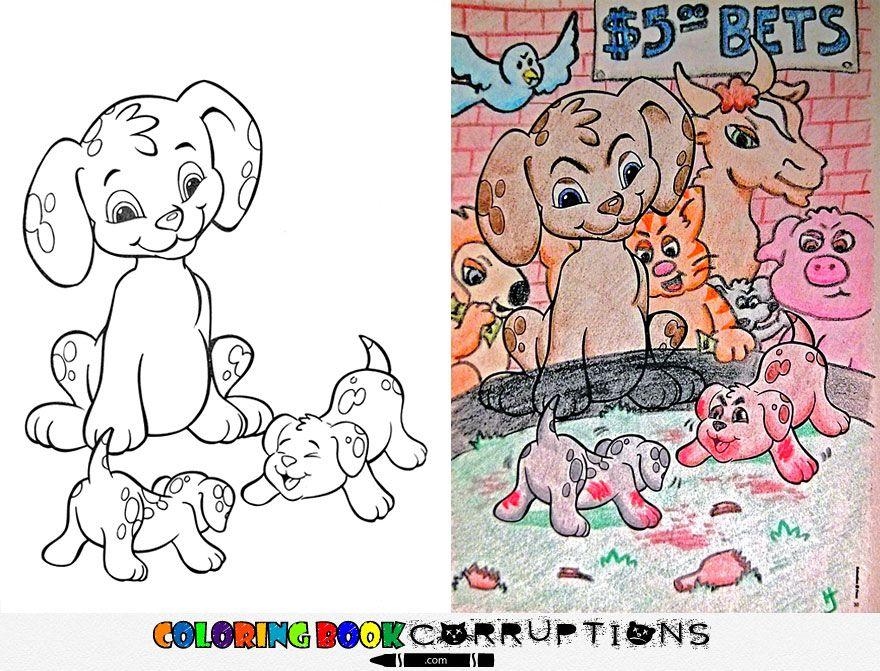 60 Funny-evil-children-coloring-book-corruptions Picture HD