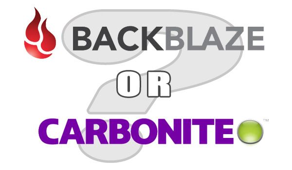 Backblaze version history