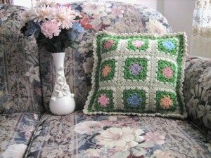 flowers of spring pillow free