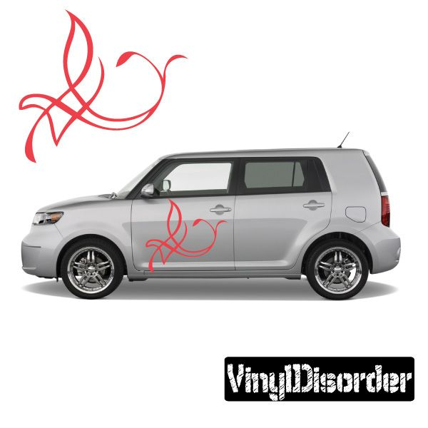 Racing Graphic Pinstripes Wall Decal - Vinyl Decal - Car ...