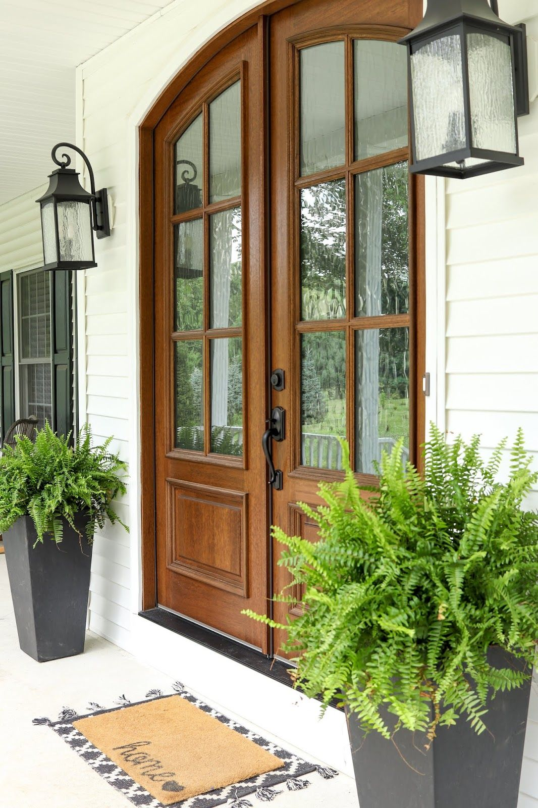Creating a Statement Entryway - Beautifully Candid