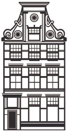 Hollandse Huisjes Sjabloon Google Zoeken Paper Art Pinterest