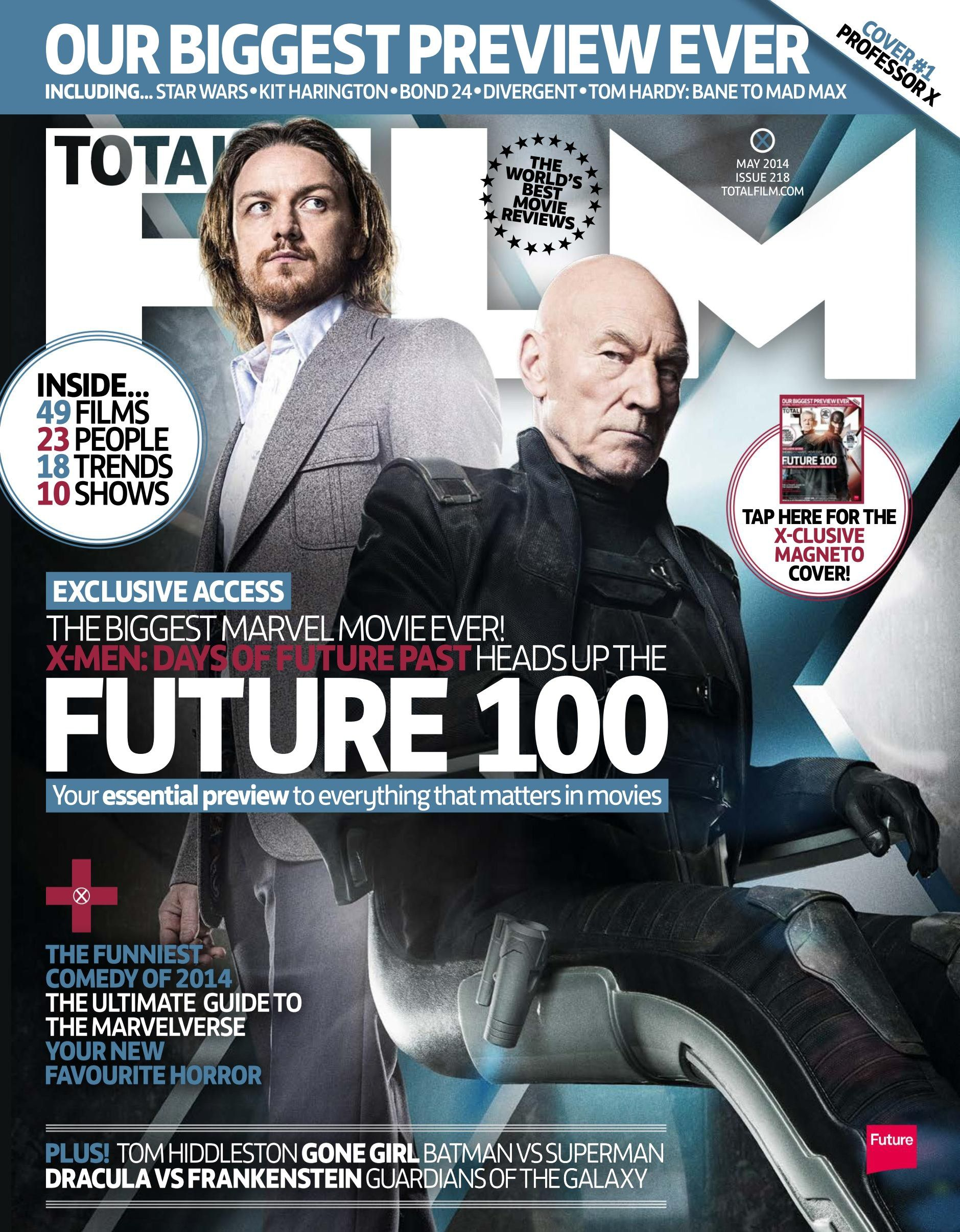 Cover Total Film Magazine 218 February 2014 Our Biggest Preview