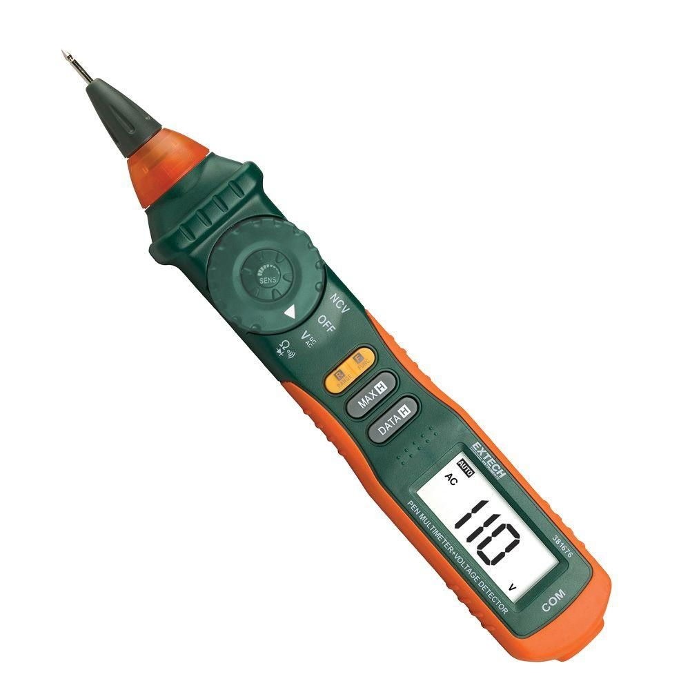 Extech Instruments Manual Multimeter Pen with Non-Contact Voltage ...