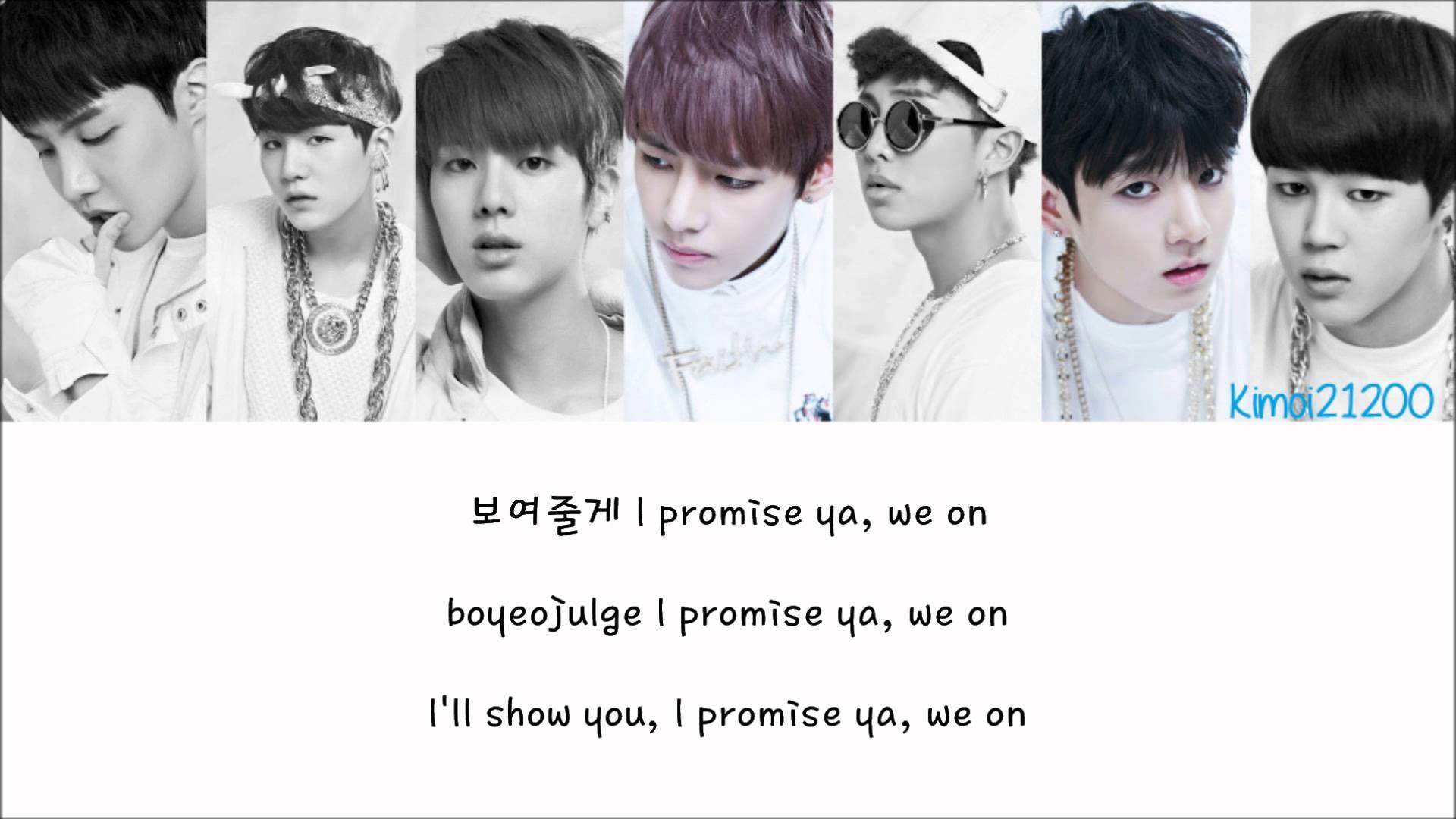 BTS (방탄소년단) - We On  Hangul Romanization English  Color   Picture Coded HD 631d1bdf3