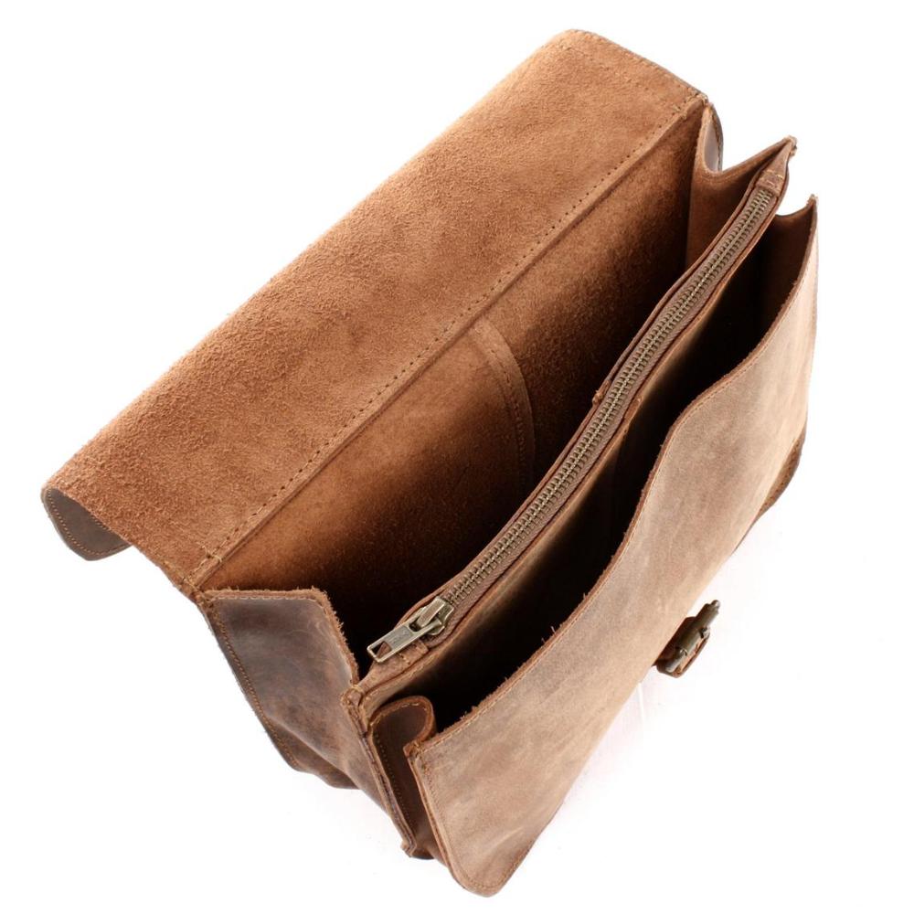 LECONI sac à bandoulière sac à bandoulière sac de loisirs pour hommes sac de loisirs pour femmes sac en cuir de buffle vintage sac en cuir femmes hommes marron LE3061-wine   – mode