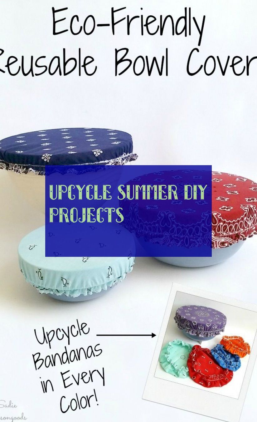 Upcycle Summer Diy Projects