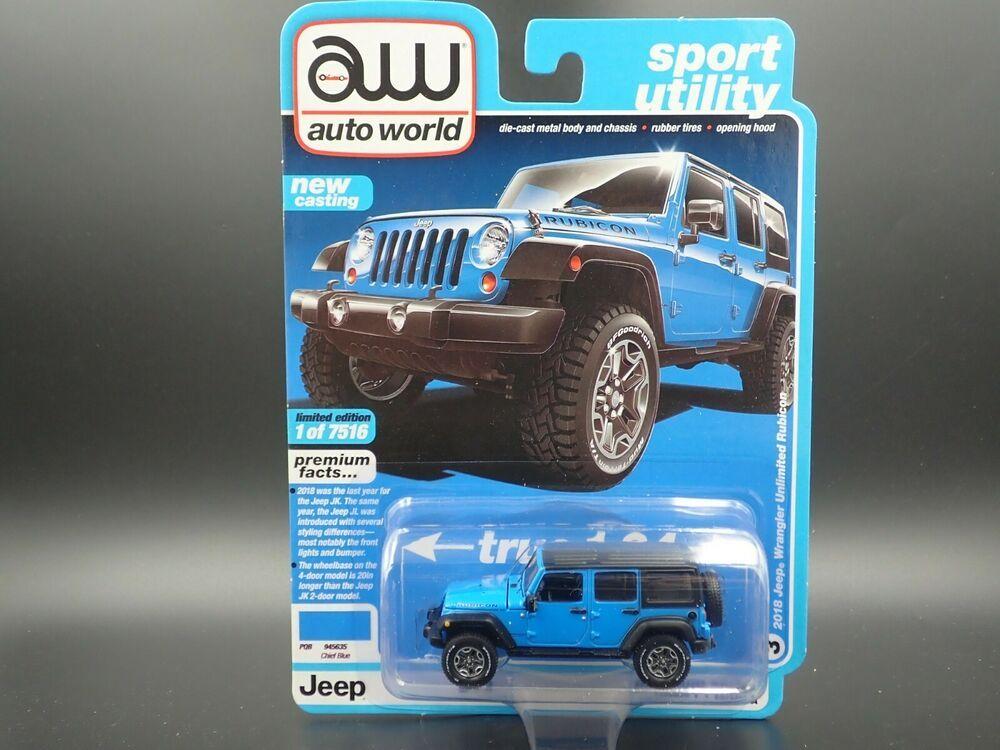 Auto World 2018 Jeep Wrangler Unlimited Rubicon Sport Utility Rel