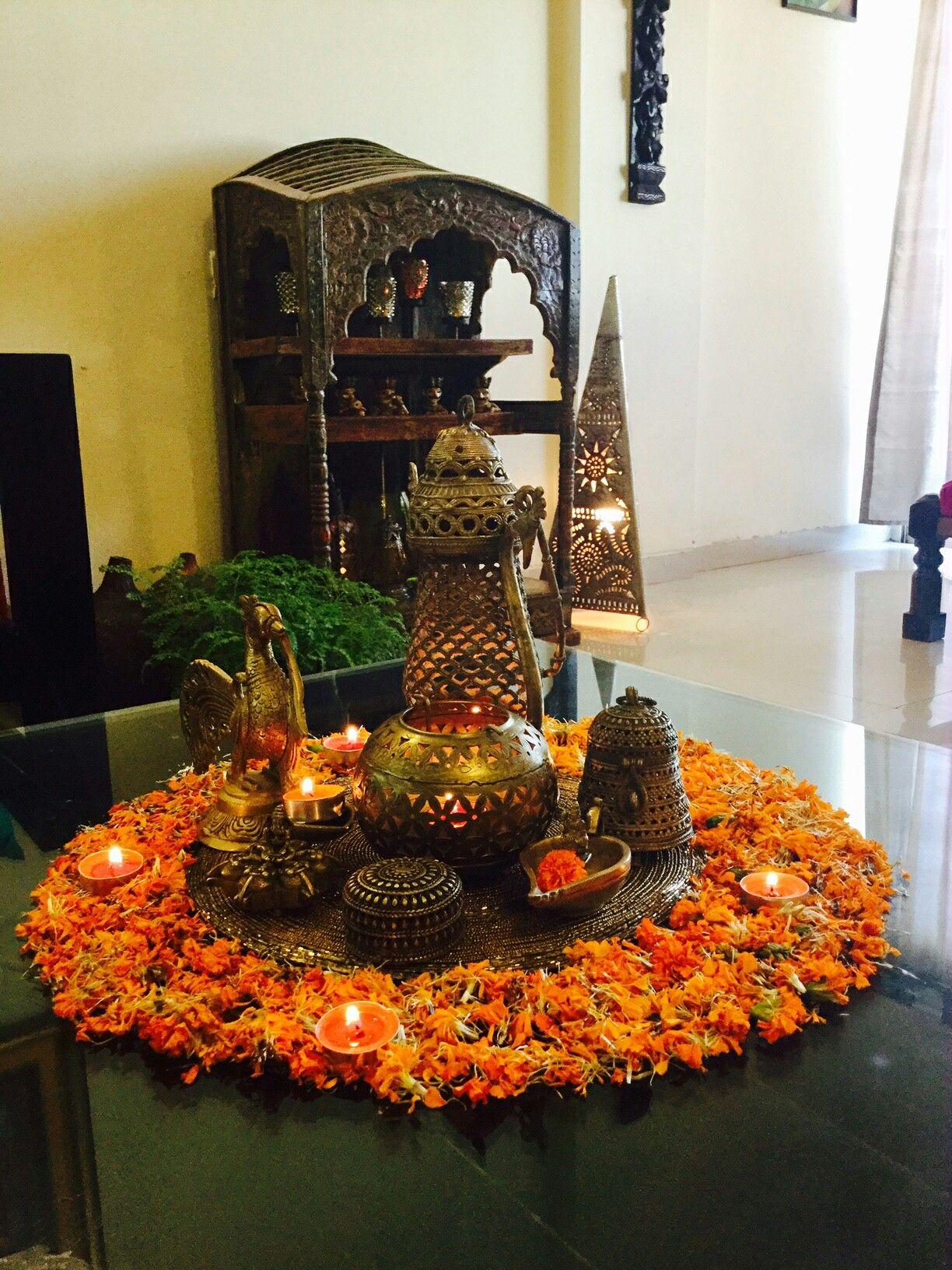 Diwali decor my home | Diwali decorations, Decor, Indian