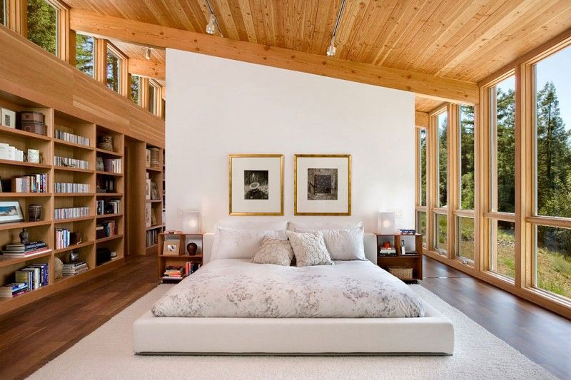 Library in my bedroom? I'd LOVE it!