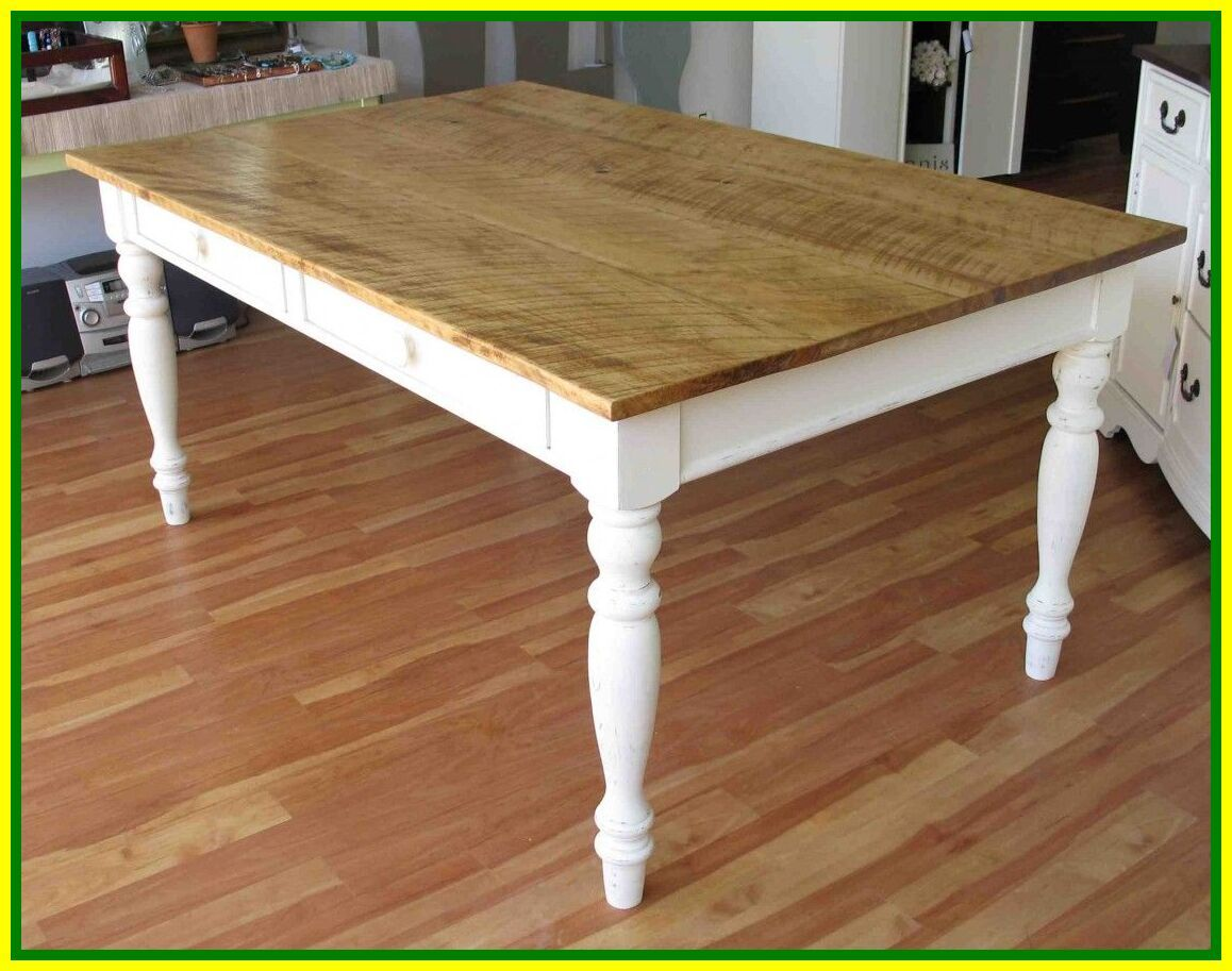white farmhouse dining table for 6