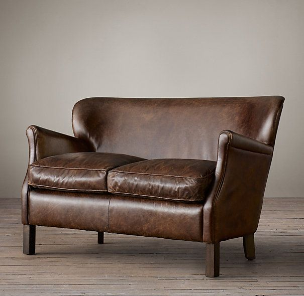 Professor S Leather Settee Furniture Couches Amp Benches