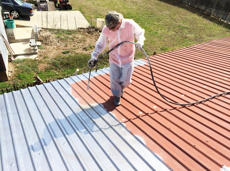 RoofPainting or repainting your house roof prevents the