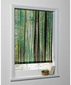 6ft Trees Photograph Blind - Black. Argos   Blinds, Roller ...