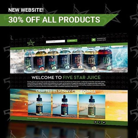 @fivestarjuice NEW WEBSITE LAUNCH SPECIAL  Tricking and Treating special for everyone this weekend. We are proud to announce the launch of our NEW WEBSITE. Everyone go check it out and have a safe weekend. 30% off ALL PRODUCTS LINK IN @FIVESTARJUICE BIO! by vapeporn