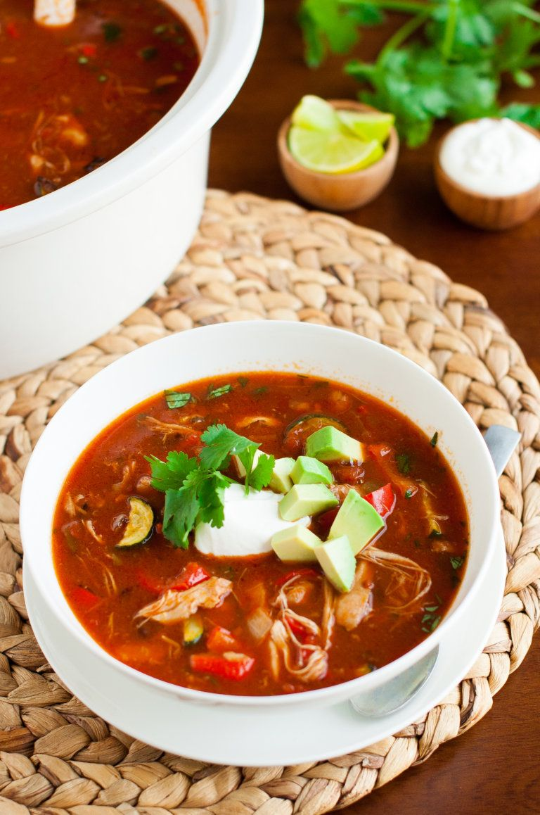 Easy, 30Minute GlutenFree Healthy Chicken Tortilla Soup
