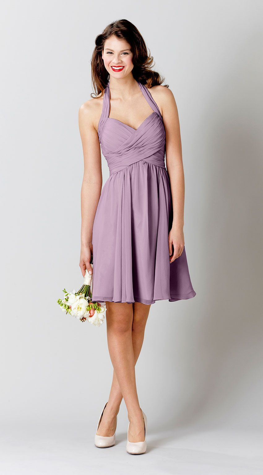 Lucy | Chiffon bridesmaid dresses, Wedding and Bridal gowns