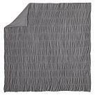 Ruched Jersey Duvet Cover, Twin