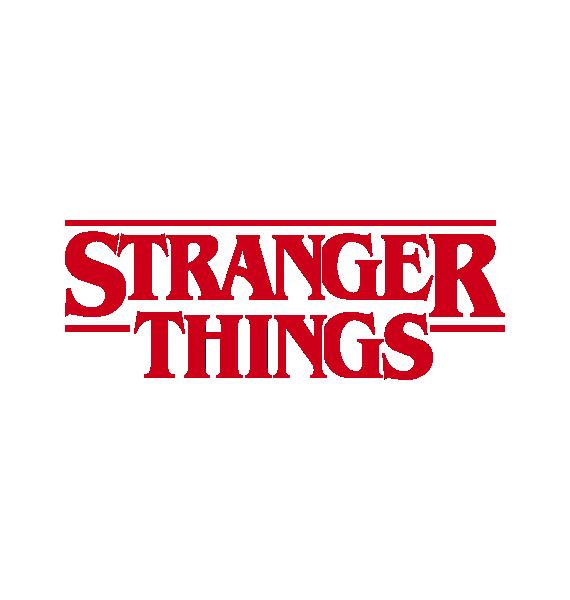 Pegatina Stranger Things Logo - adhesivosNatos | Pegatinas ...
