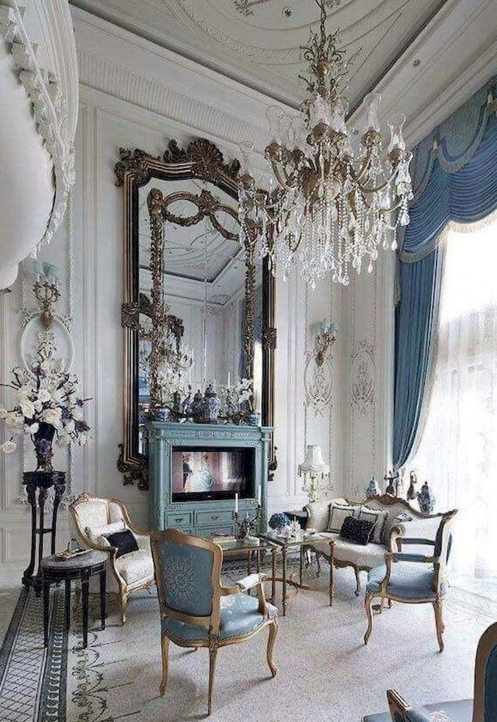30+ Excellent French Living Room Ideas (With images ...