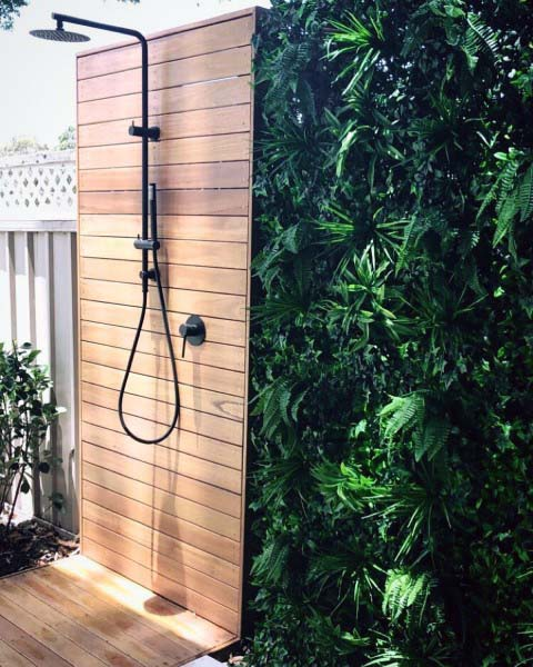 Top 60 Best Outdoor Shower Ideas Enclosure Designs In 2020 Outdoor Bathroom Design Outdoor Bathrooms Outdoor Pool Shower