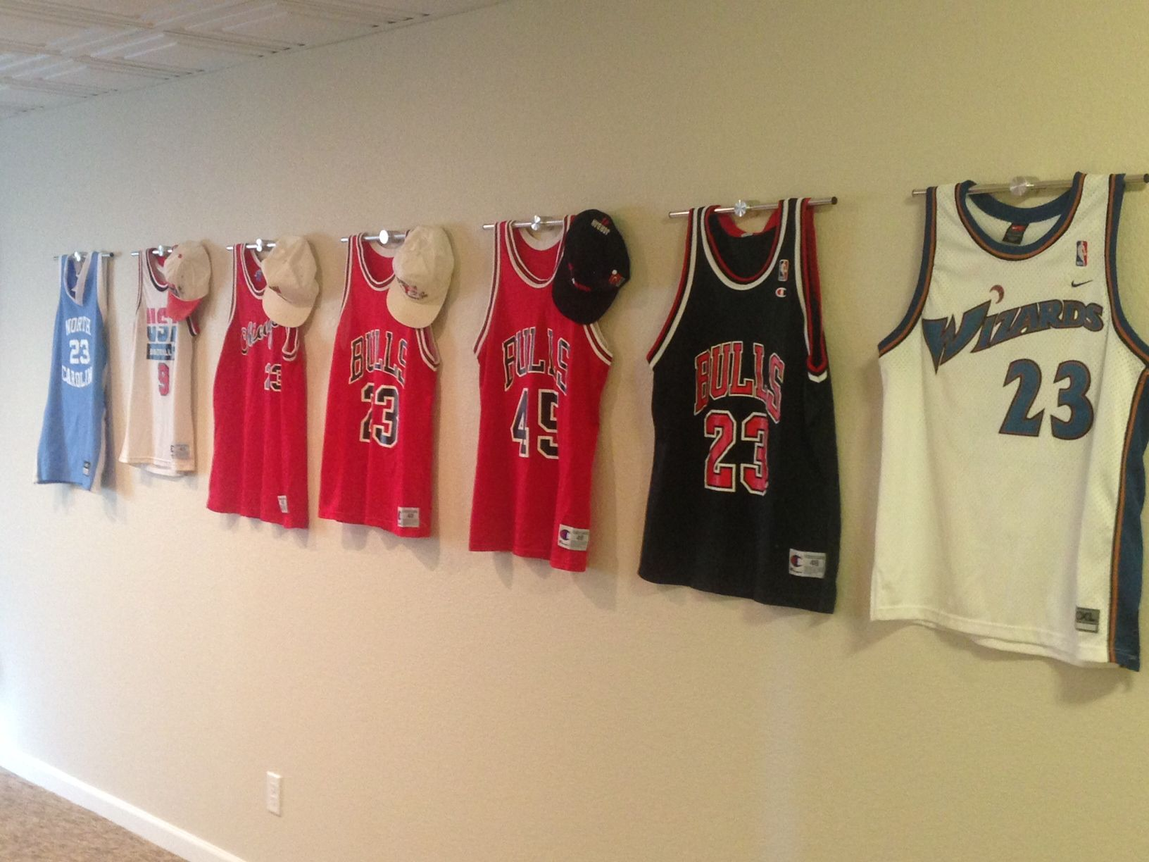 Najarian Nba Youth Bedroom In A Box: Complete Jordan Wall Of Fame Costing Only