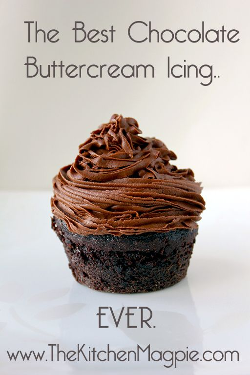 Chocolate Buttercream Icing Recipe, Amazing rich chocolate ...