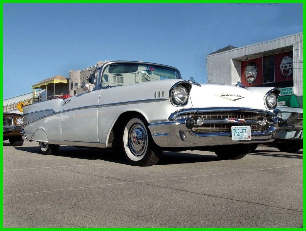 49 1957 Chevrolet Bel Air Bad Michaelieclark Chevy Bellaire Convertible Cool Awesome 150 210