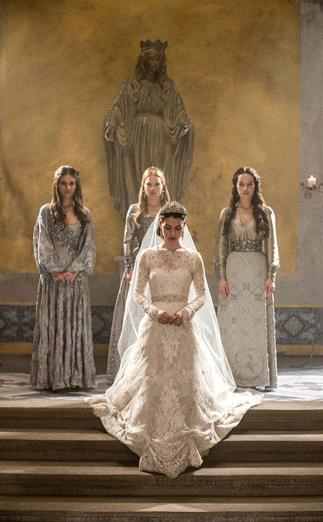 Reign postmortem what 39 s next after the wedding caitlin for Reign mary wedding dress