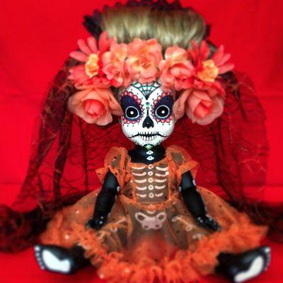 Día de Muertos doll -