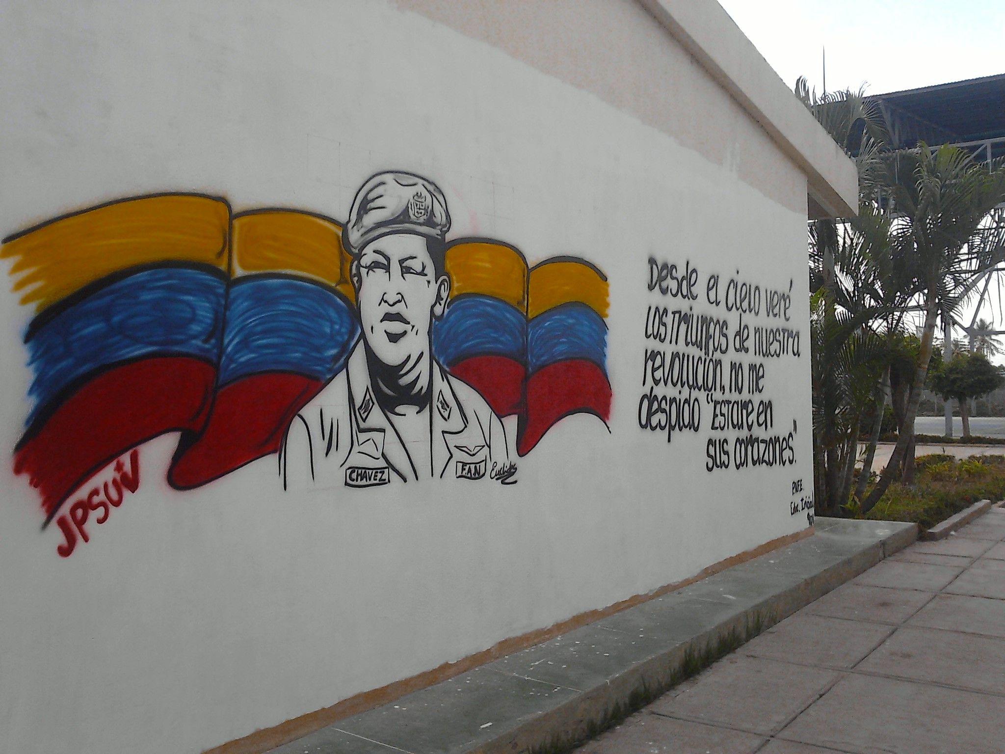 mural en la aldea