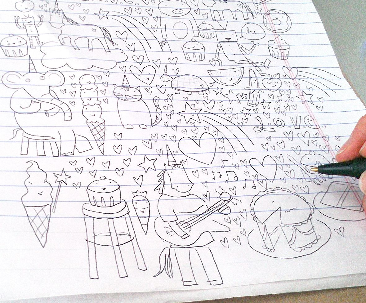 4 Easy (and Fun!) Ways to Start Doodling (With images