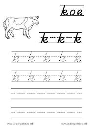 Afbeeldingsresultaat voor schrijfpatronen van de letters ik