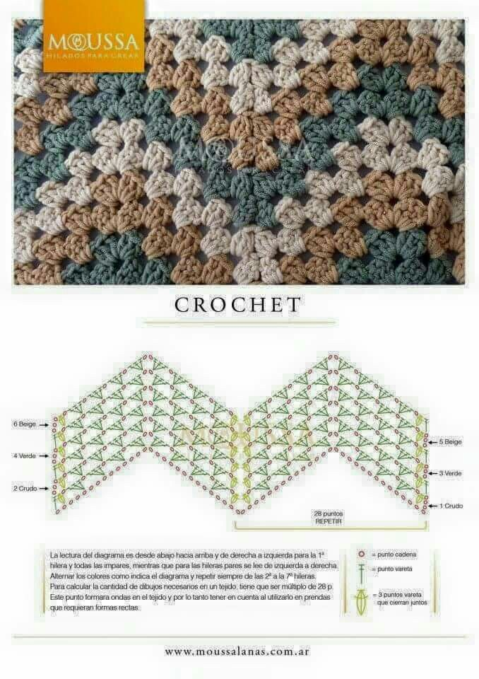 Pin de Mary E Rodela en Crochet: Love 2 | Pinterest | Punto de ...