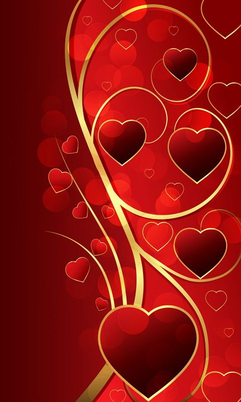 Download 480x800 «Valentine's Day» Cell Phone Wallpaper