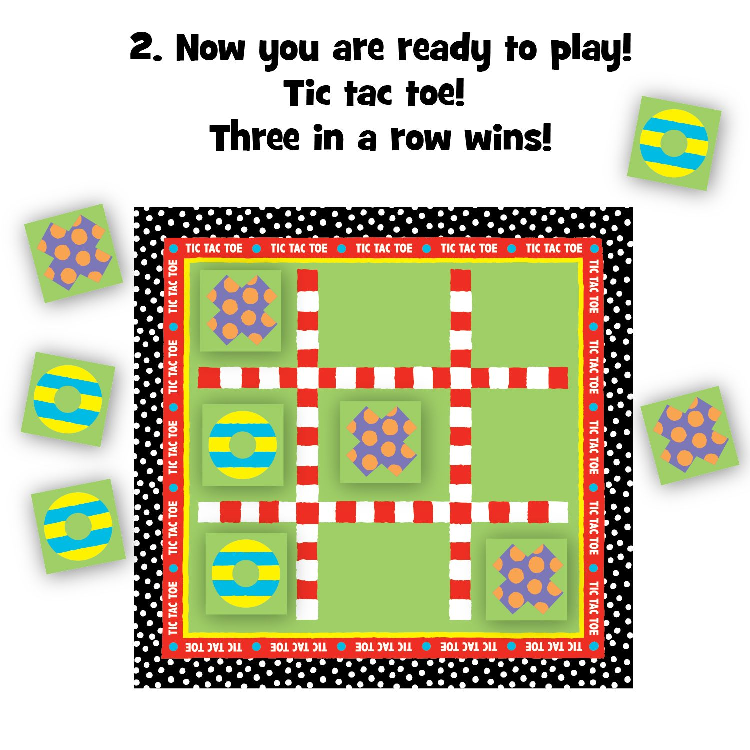 Printable Tic-Tac-Toe Game - ALEX Toys