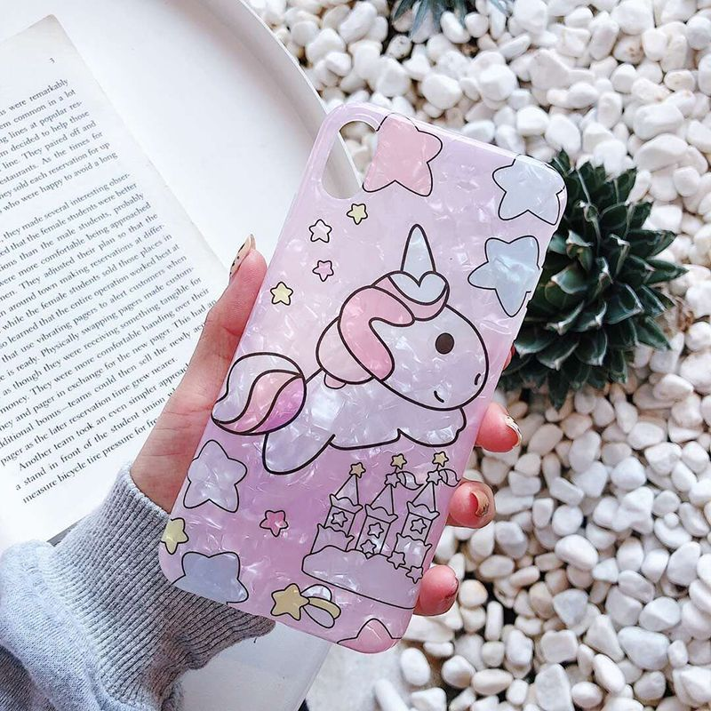 Candy Colors Unicorn Phone Case For