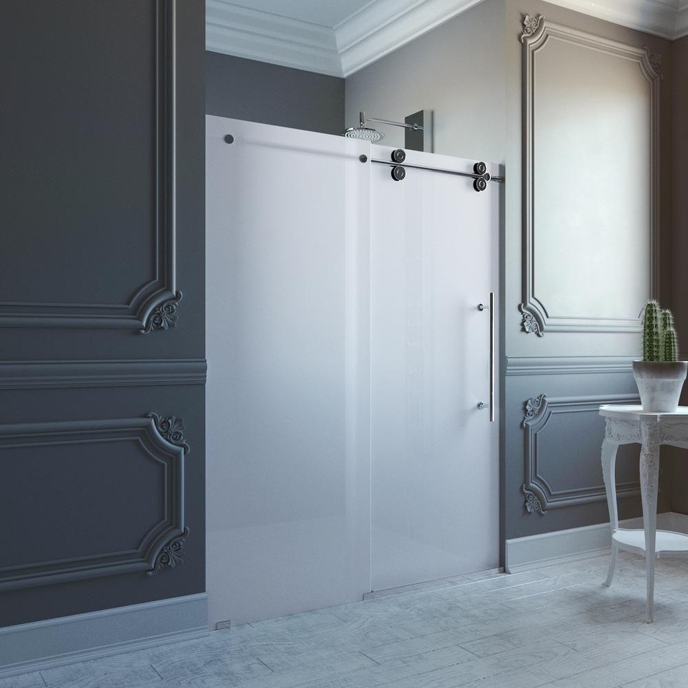 Frosted Glass Shower Doors | http://sourceabl.com | Pinterest ...