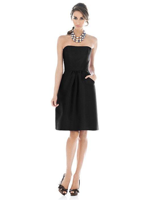 Alfred Sung Bridesmaid Dress D508 http://www.dessy.com/dresses/bridesmaid/d508/