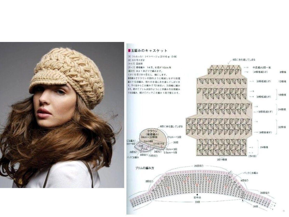 Modèles Et Grilles À Imprimer - Crochet Passion | หมวก | Pinterest ...