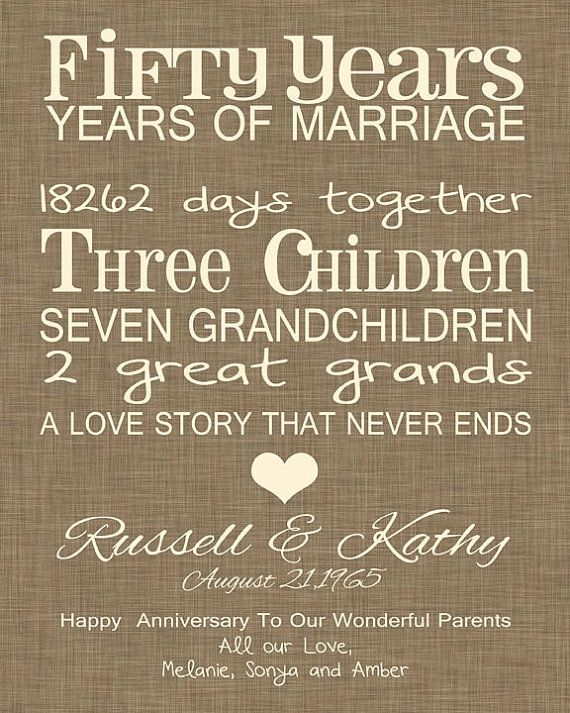 looking for a fun whimsical anniversary gift for your parents this print is a great choice it list their years and their days together