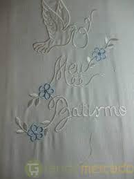 toalhas de batismo -