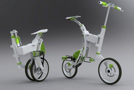 Grasshopper Folding Bike Generates Pedal Power Bicycle Bike Design Electric Bicycle