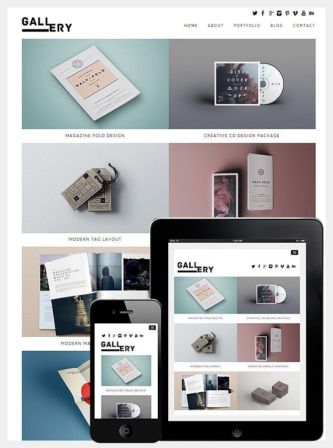 Premium | Premium Portfolio Responsive WordPress Themes - Dessign ...