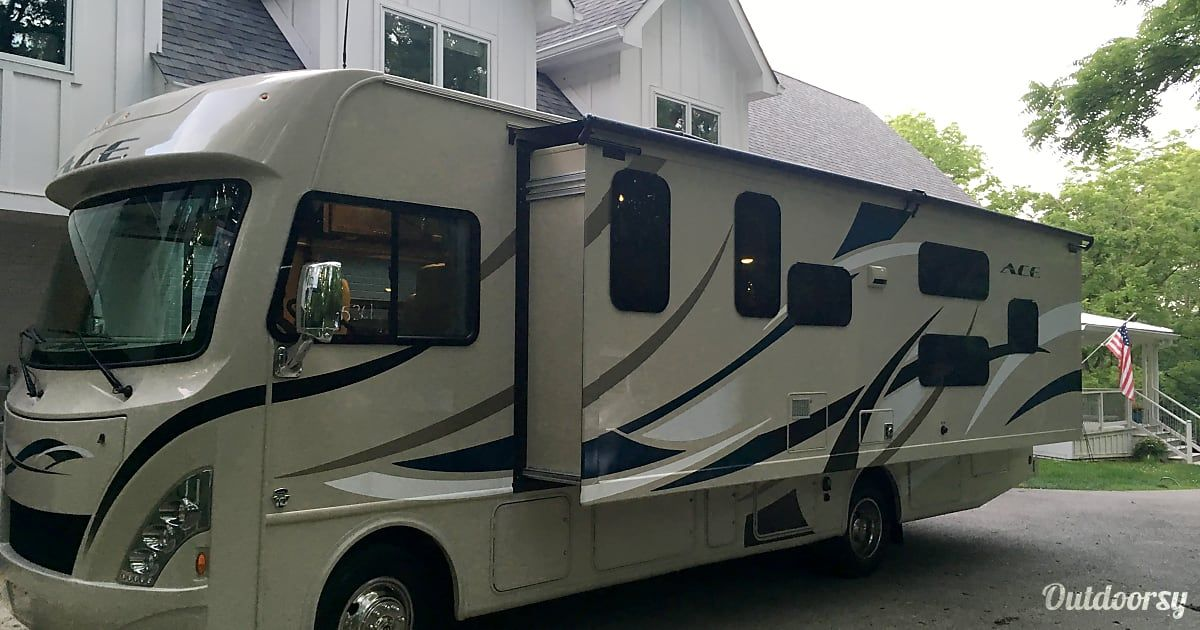 2017 thor motor coach ace motor home class a rental in