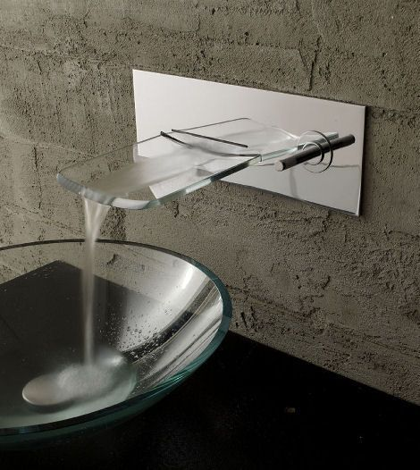 Bandini Arya crystal wall-mounted faucet | Bathroom - Faucets ...