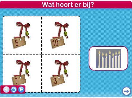 Kerst - lotto / Kun jij alles goed tellen #netwijs